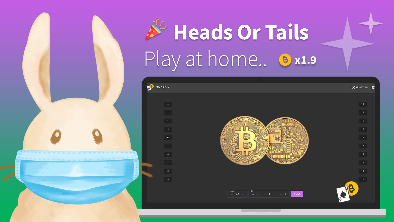 New Crypto Game – Heads Or Tails