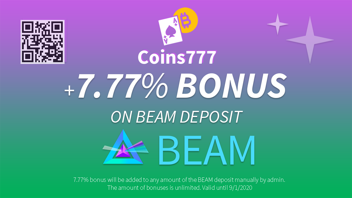 +7.77% BONUS on BEAM deposit